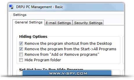 Keyboard Spy Software screenshot