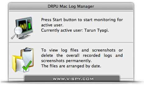 Spyware for Mac screenshot